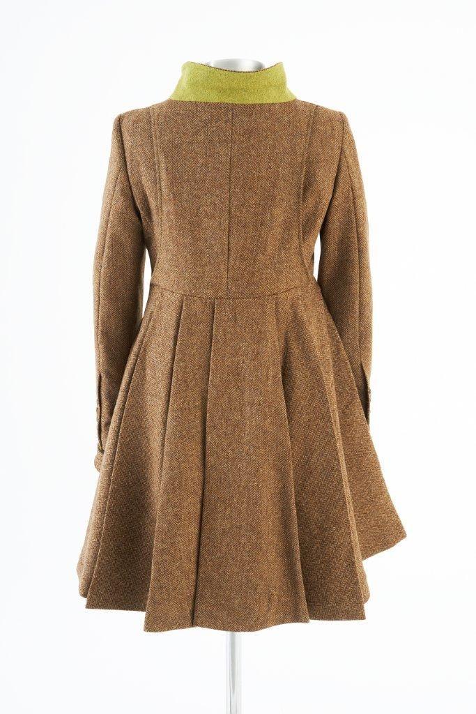 Castlebar Coat – Brown Herringbone
