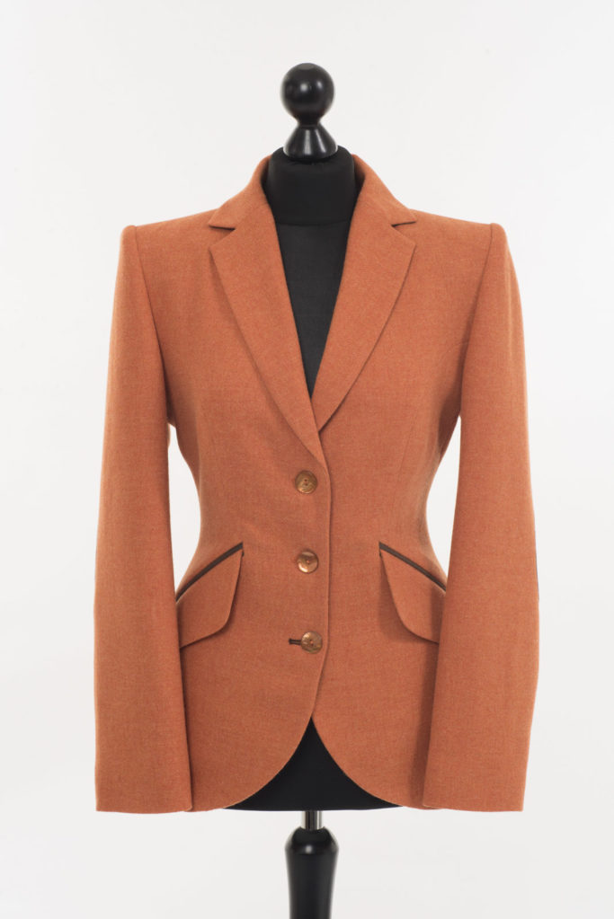Va Va Voom Jacket – Light Orange