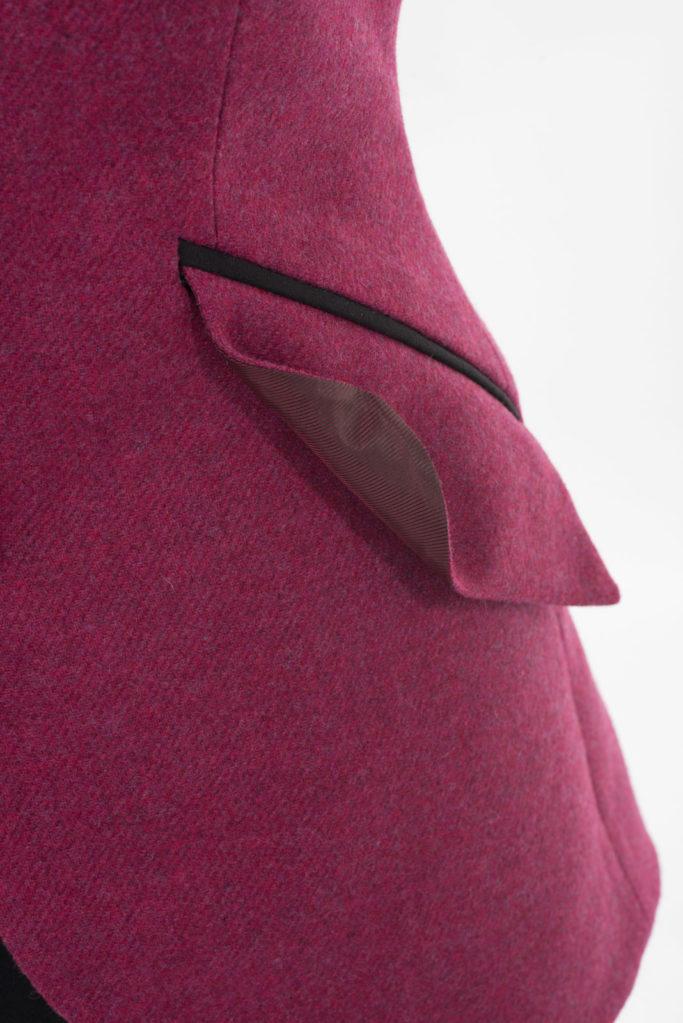 Va Va Voom Jacket – Fuchsia