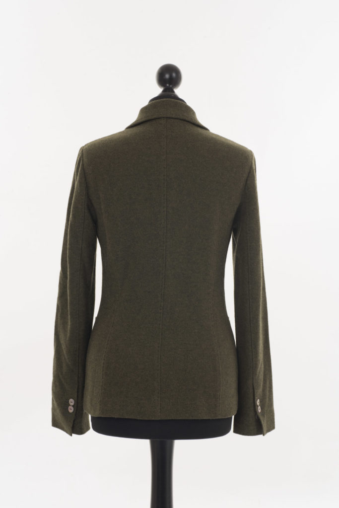 Ladies Cashmere Jacket – Loden Green