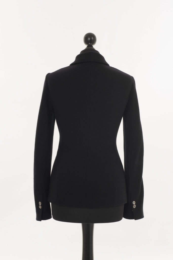Ladies Cashmere Blazer Cocktail Black