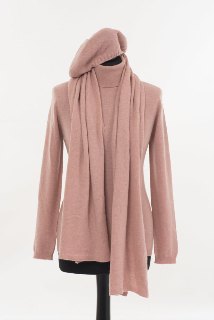 Lucan Scarf Champagne Pink