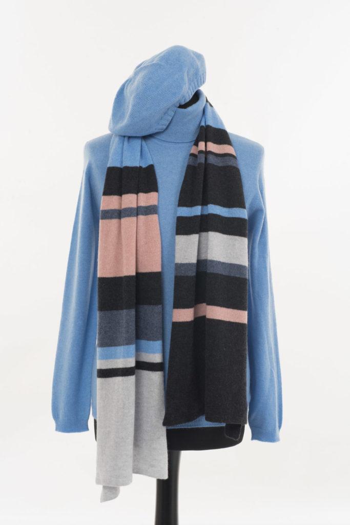 Ladies Polo Neck Castlebar Blue