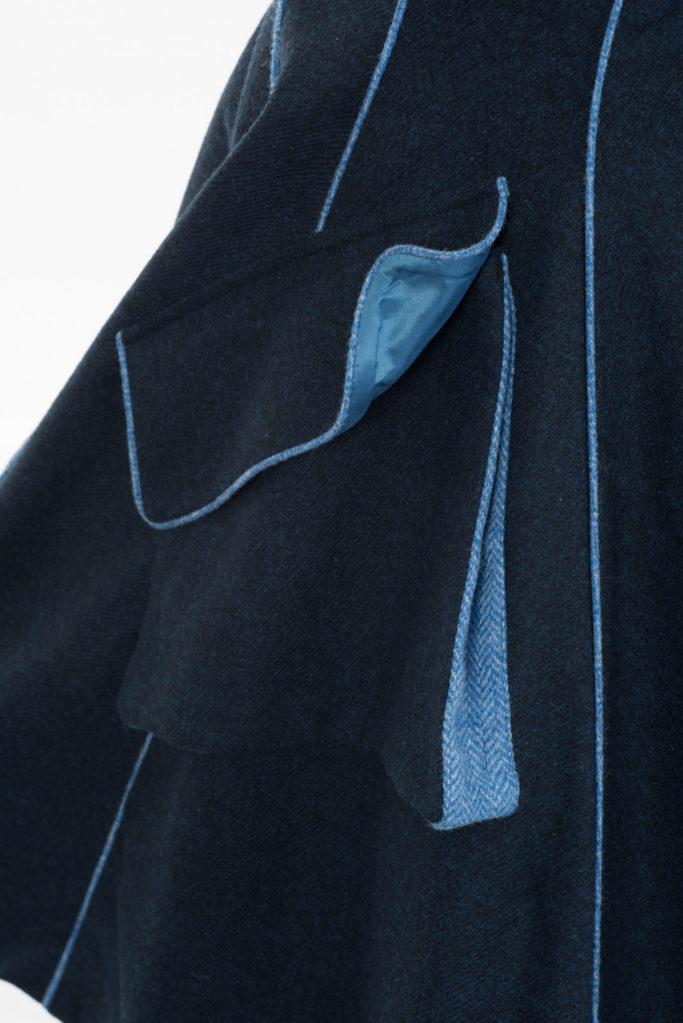 Lannagh Coat – Indigo/Blue