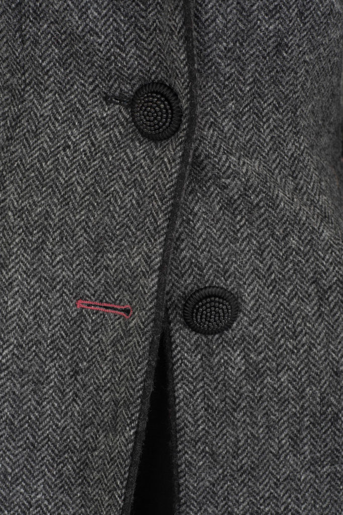 Ballinrobe Coat – Grey Herringbone