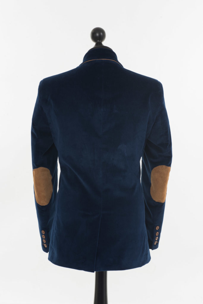 Connacht Cord Jacket – Royal Blue Corduroy