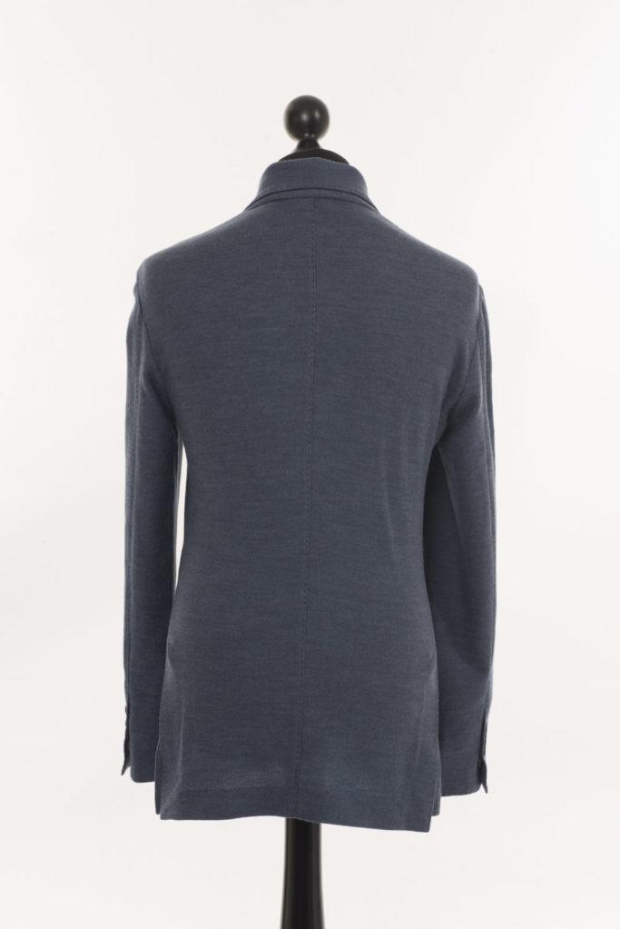 Mens Merino Wool Jacket – Blue
