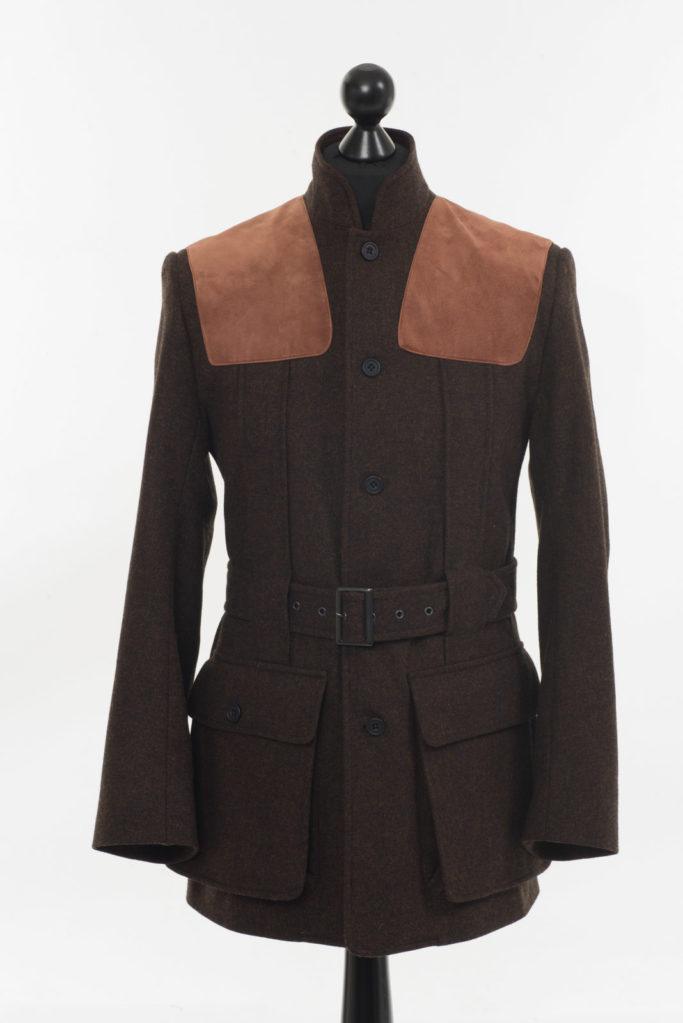Norfolk Jacket – Dark Brown Twill Tweed