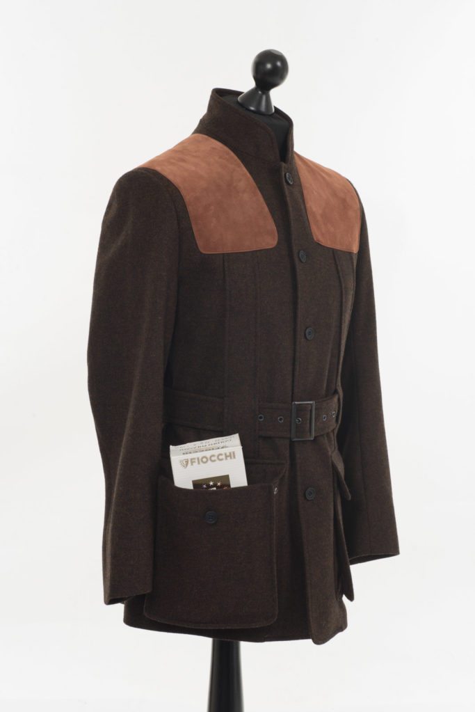 Norfolk Jacket – Dark Brown Twill Tweed