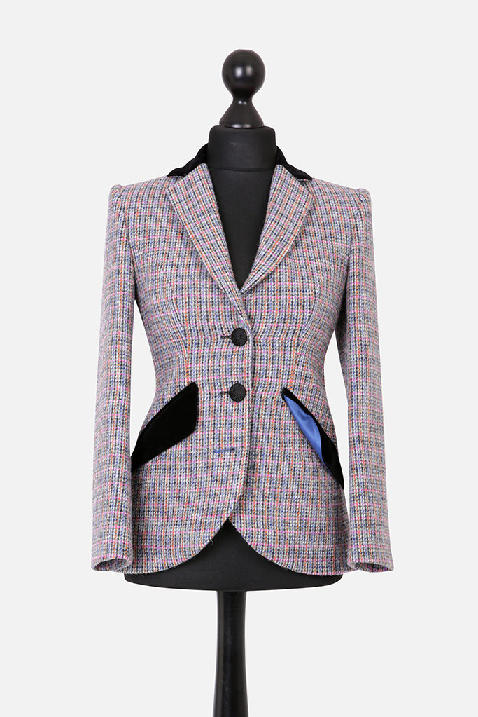 Va Va Voom Jacket – Harris Tweed