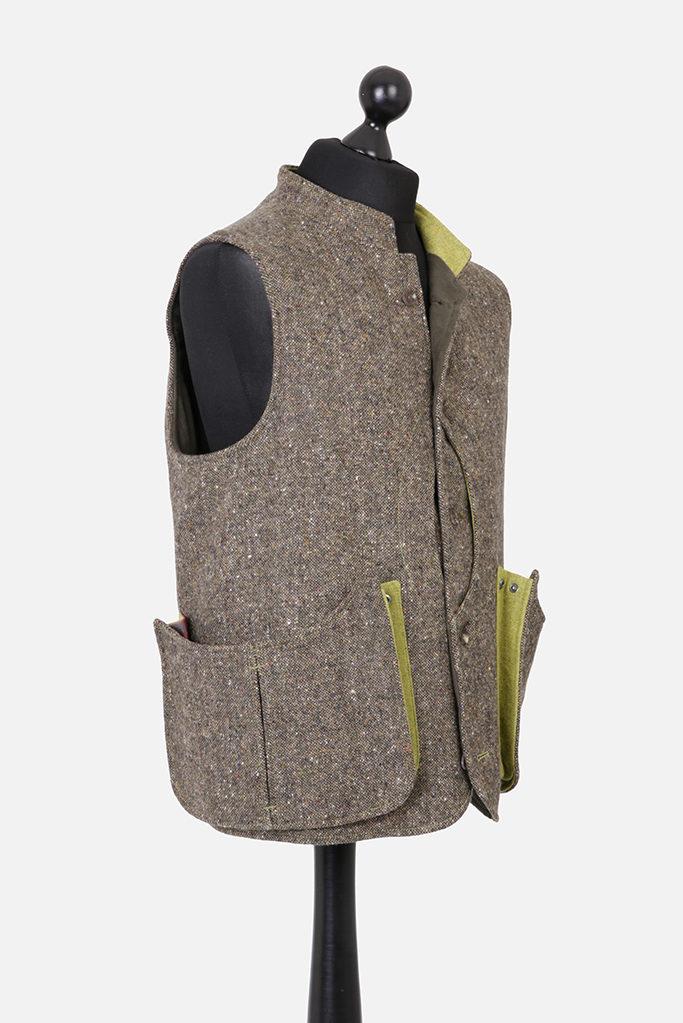 Mens Gilet – Donegal Tweed