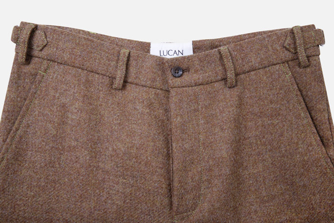 Mens Trouser – Ginger Brown