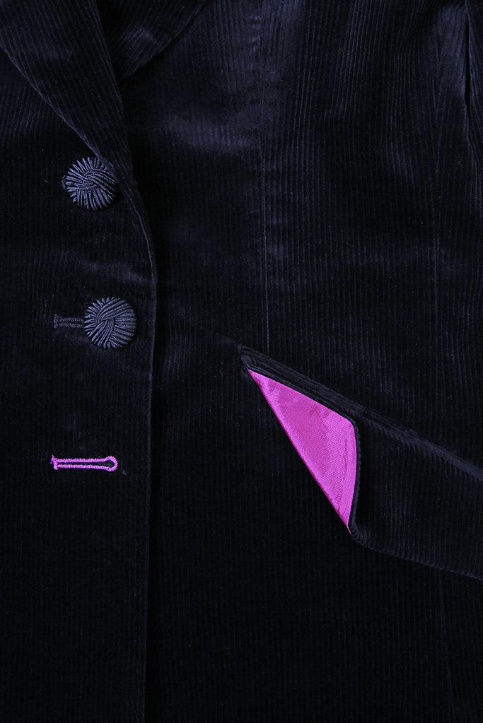Feeagh Jacket – Black Corduroy
