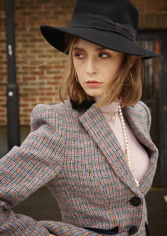 Va Va Voom Jacket – Harris Tweed