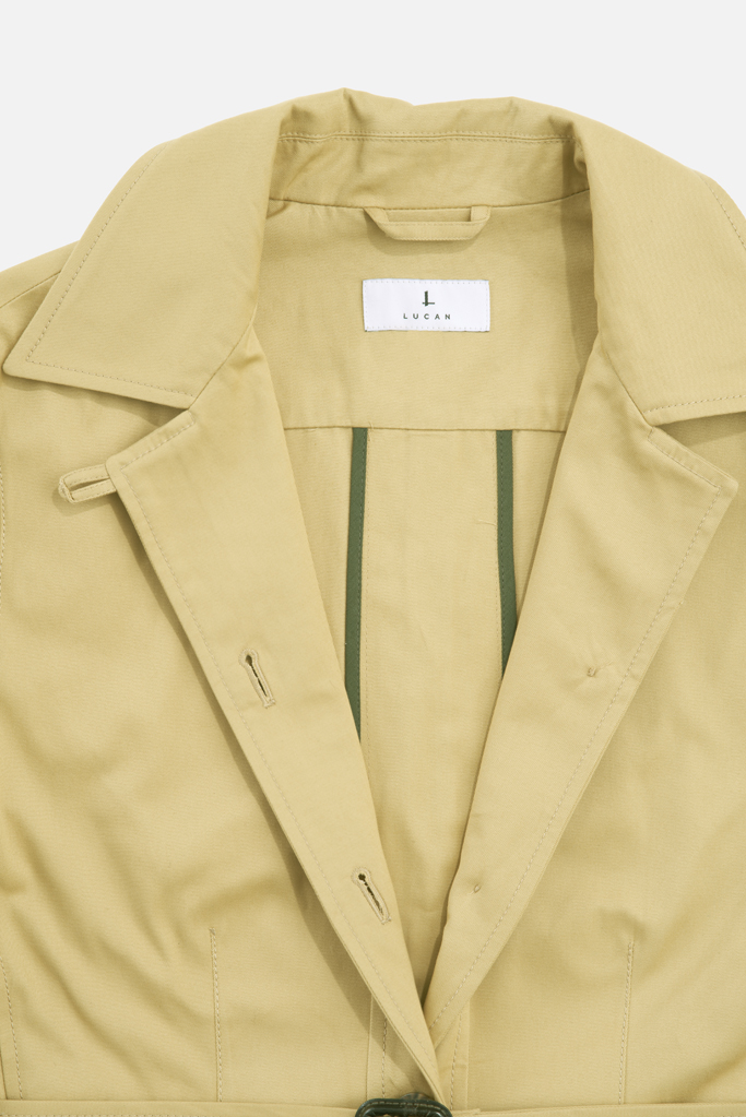 Ladies Safari Jacket – Sandstone Cotton Twill