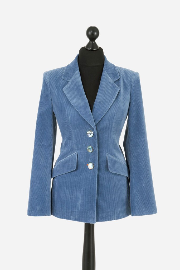 Ladies Feeagh Jacket – Dusk Blue Corduroy