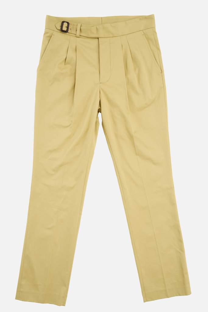 The Lucan Gurkha Trouser – Sandstone Cotton Twill