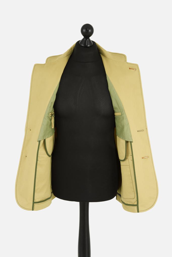 Tully Jacket – Sandstone Cotton Twill