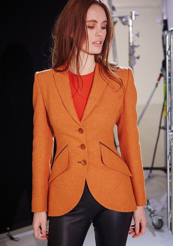 Va Va Voom Jacket – Light Orange